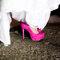 Rosa shocking para noivas modernas. Foto: Paulo Herédia