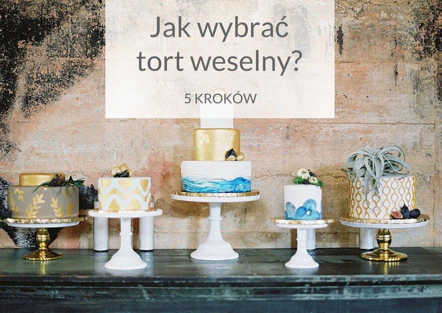 Jak wybrać tort weselny? 5 rad, które musicie znać podczas wyboru tortu weselnego
