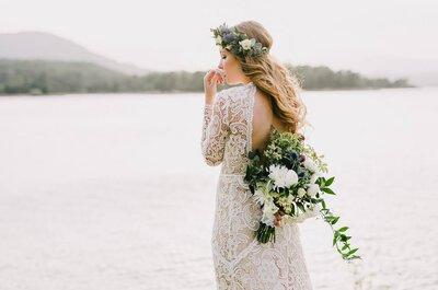 10 pruebas infalibles de que has encontrado el vestido de novia de tus sueños