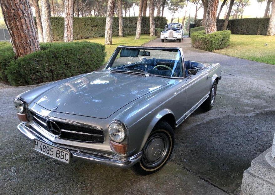 Nuptia Cars: coches exclusivos de Mercedes para vuestra boda