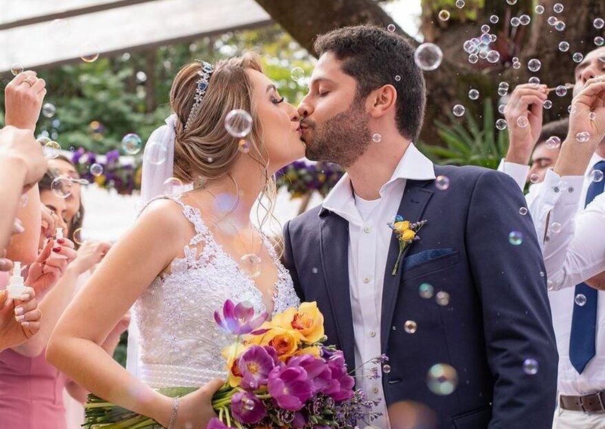 8 razões para você escolher um mini wedding: conheça todas elas!