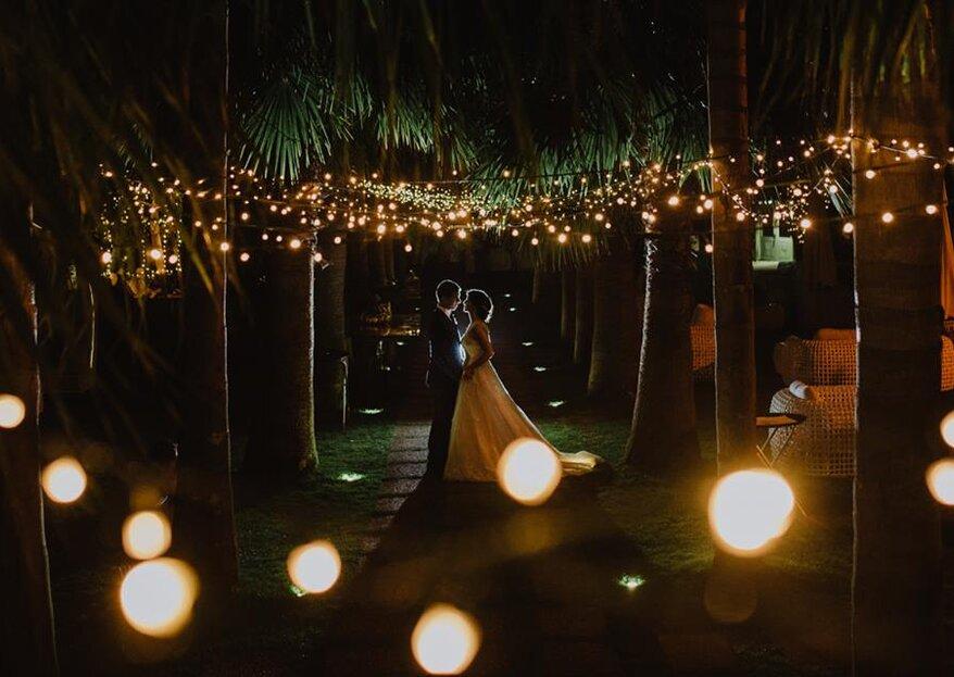 O melhor fotógrafo para cada espaço de casamento