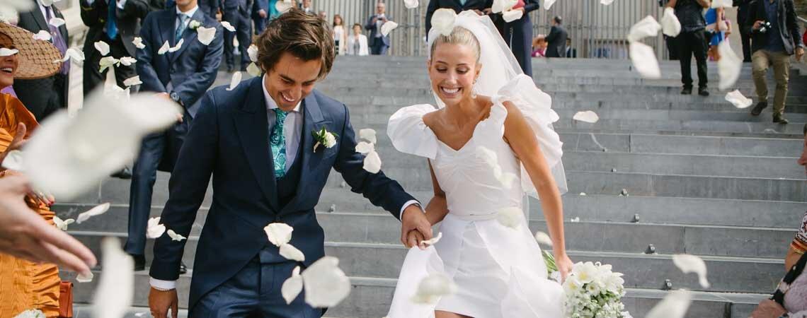Cuando el amor y la moda se unen: la boda de Sofía y Nacho