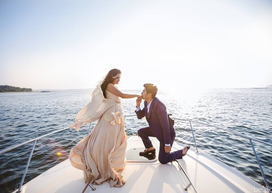 4 Creative Location Ideas For Your Wedding Photography