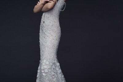 Свадебные платья от Vera Wang Зима 2015: новая романтика