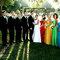 Kolorowe suknie druhen dają niebywały efekt na fotografiach ślubnych!