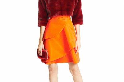 Oscar de la Renta Pre Fall 2015: Vestidos de fiesta preciosos con motivos florales y líneas muy femeninas