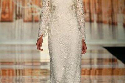 Vestidos de novia bordados 2014