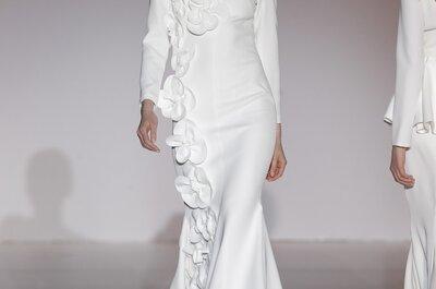Inspiraciones arquitectónicas que enamoran: Los detalles en los vestidos de novia 2015 de Juana Martín