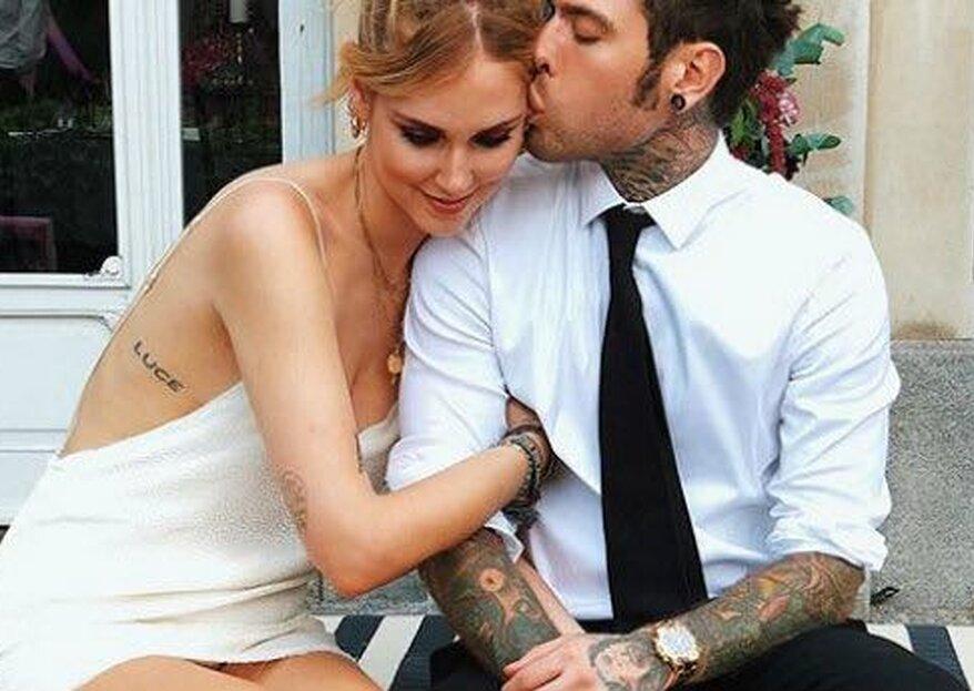 #TheFerragnez: il matrimonio dell'anno e la lista nozze solidale a favore dei fan