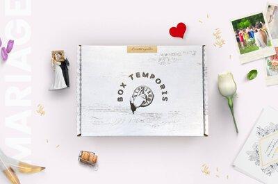 Faites un voyage dans le temps ! Offrez-lui une Box Temporis pleine de souvenirs et d'émotions