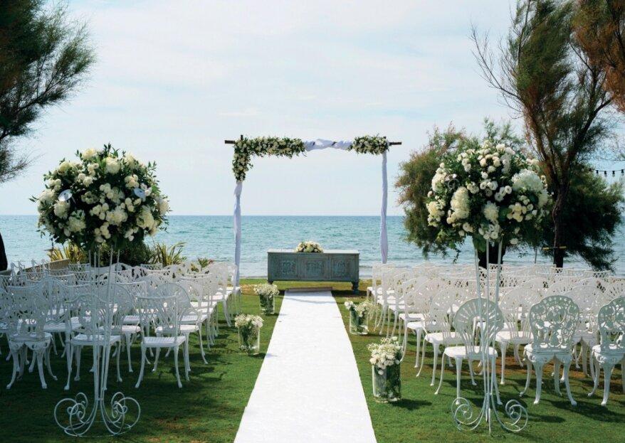 Un open day il 26 e 27 ottobre 2019 per scoprire uno scenario romantico dove coronare la vostra storia d'amore: Nabilah Luxury Beach Wedding