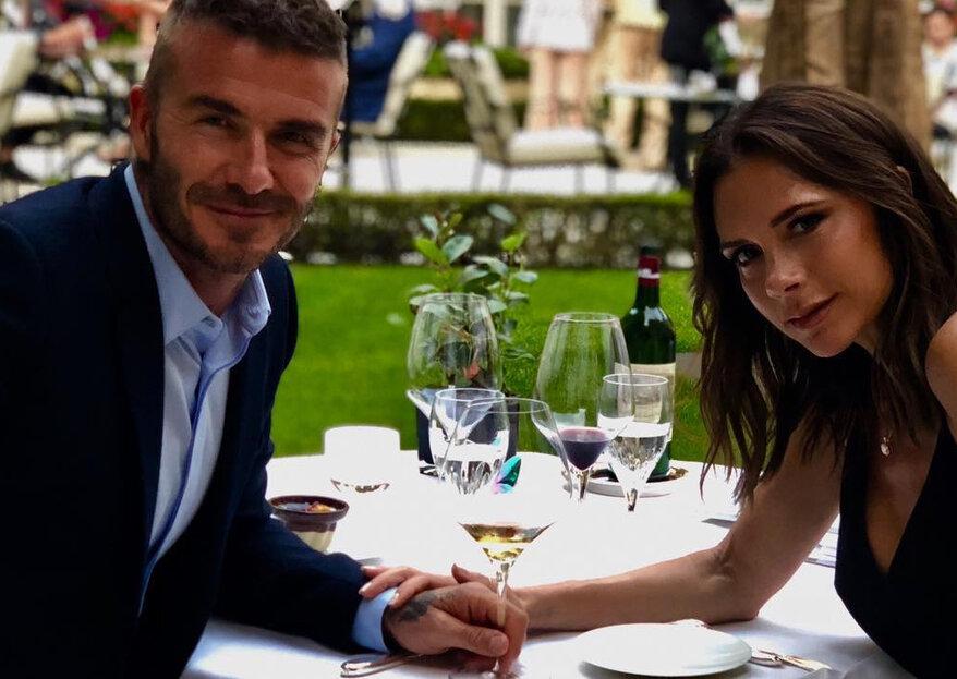 Victoria e David Beckham celebram 19 anos de casamento com declarações de amor