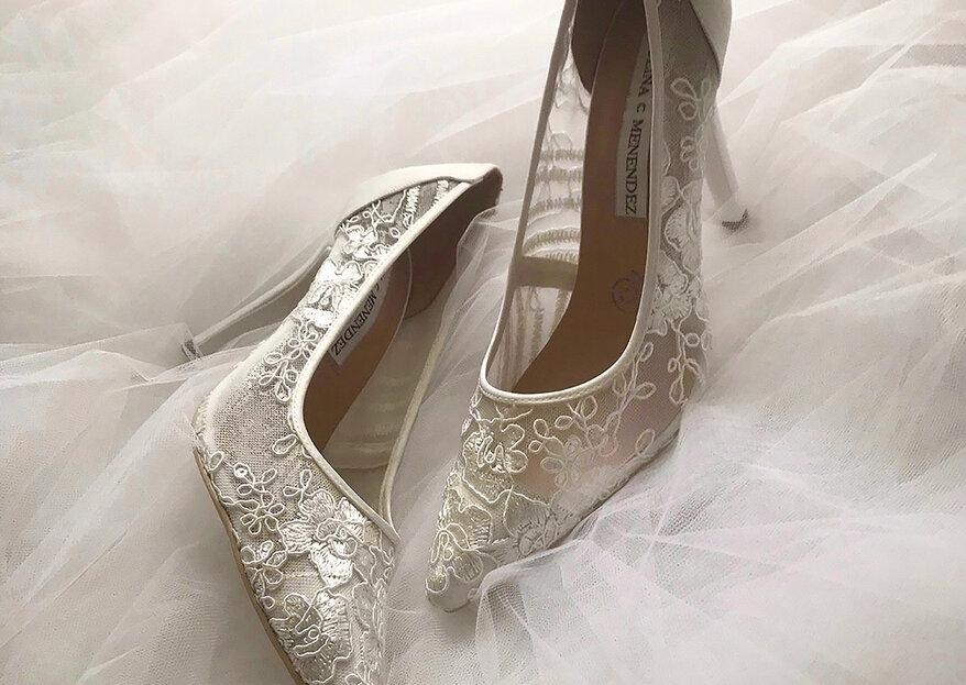 Paulina C Menendez, la nueva marca mexicana de zapatos de novia que debes conocer