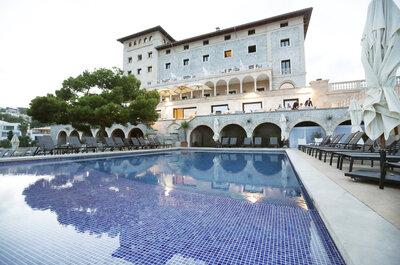 Haz de tu boda un evento de prestigio en el vanguardista Hospes Maricel & Spa Mallorca