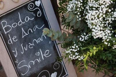 Cuando lo romántico y lo silvestre se unen: la boda de Ana y Juanan