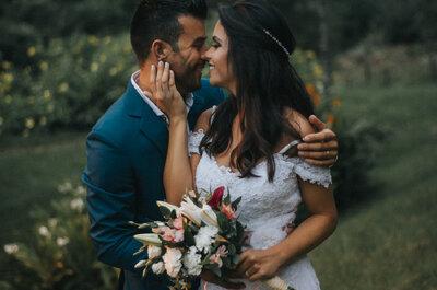 Casamento íntimo de Déborah & Reginaldo: família reunida no fim de semana para celebrar o amor!