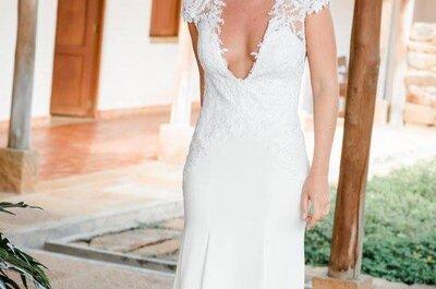 ¿Una diseñadora o una tienda de vestidos de novia? ¡Esta es la mejor opción!