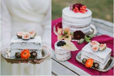 Le naked wedding cake : idées gourmandes pour un mariage rustique