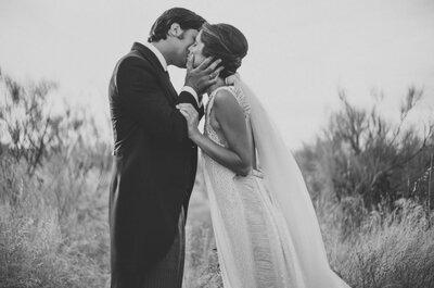 Una boda en el campo: así fue el enlace de Beatriz y Pedro