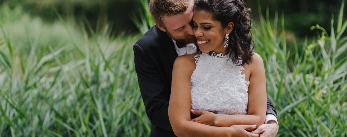 Polsko-brazylijskie wesele pod Wrocławiem! Mari i Błażej wyglądali przepięknie!