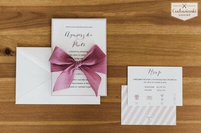 Romantyczny, tradycyjny, staropolski czy z humorem? Jaki tekst wpiszesz w zaproszeniach ślubnych?
