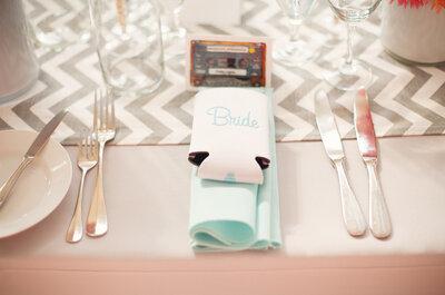 El zig zag que todas amamos: Las más lindas ideas para decorar tu boda con el chevron