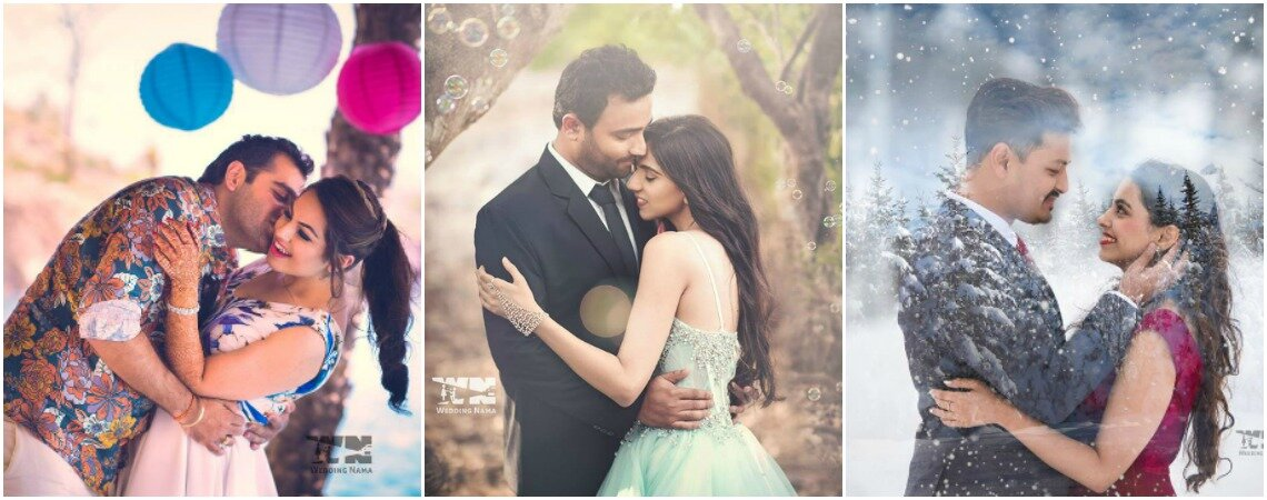 Strike a pose! Create a lifetime of memories on your pre-wedding photoshoot