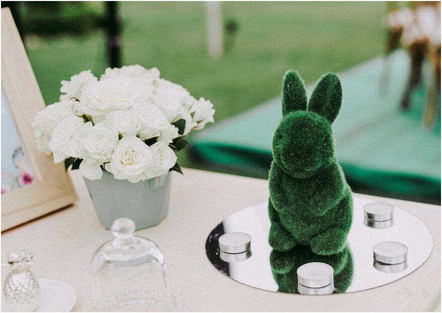 Interiorismo en tu boda, ¡la última tendencia en decoración para 2019!