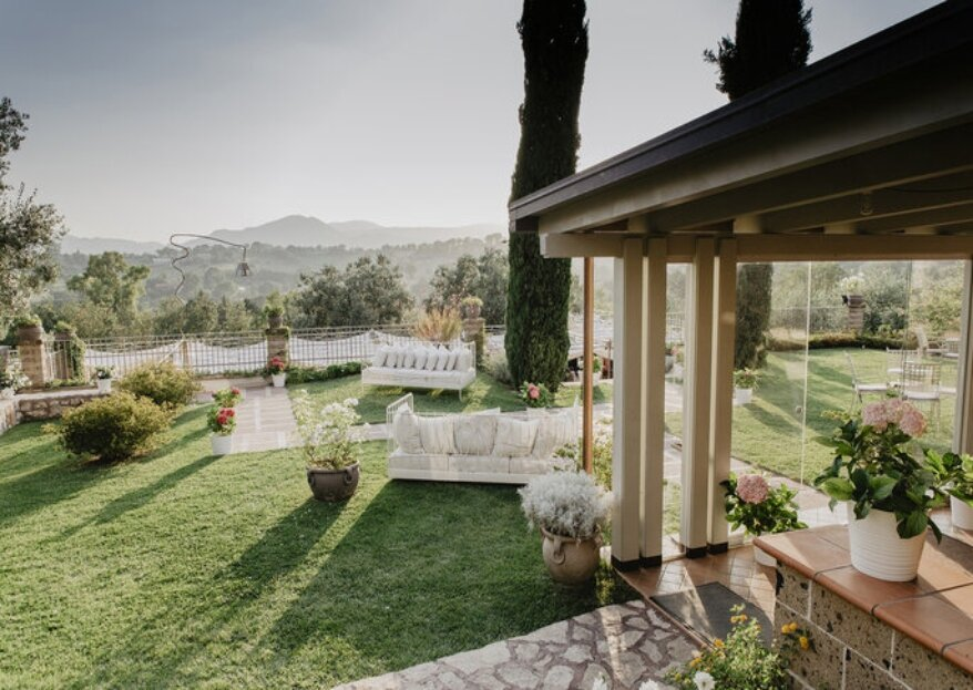 Il più romantico dei paesaggi come cornice per il vostro amore, per le nozze scegliete Tenuta Colle Rajano