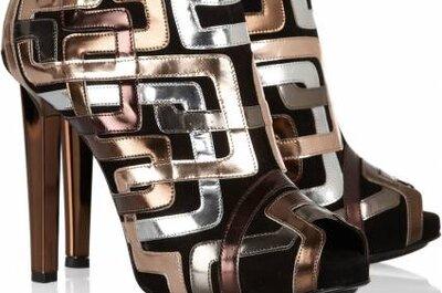 Selección de botines de diseño para invitadas 2012