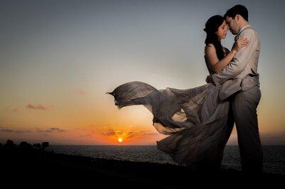 La boda de Lauren y Marcelo: una celebración íntima y mágica en Cartagena