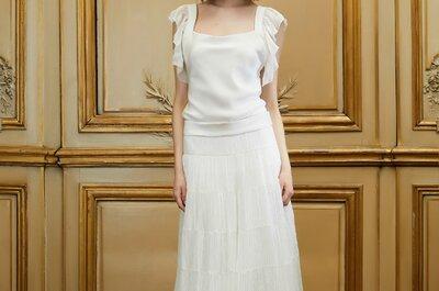 Robes de mariée 2015 : un joli décolleté carré pour attirer l'attention