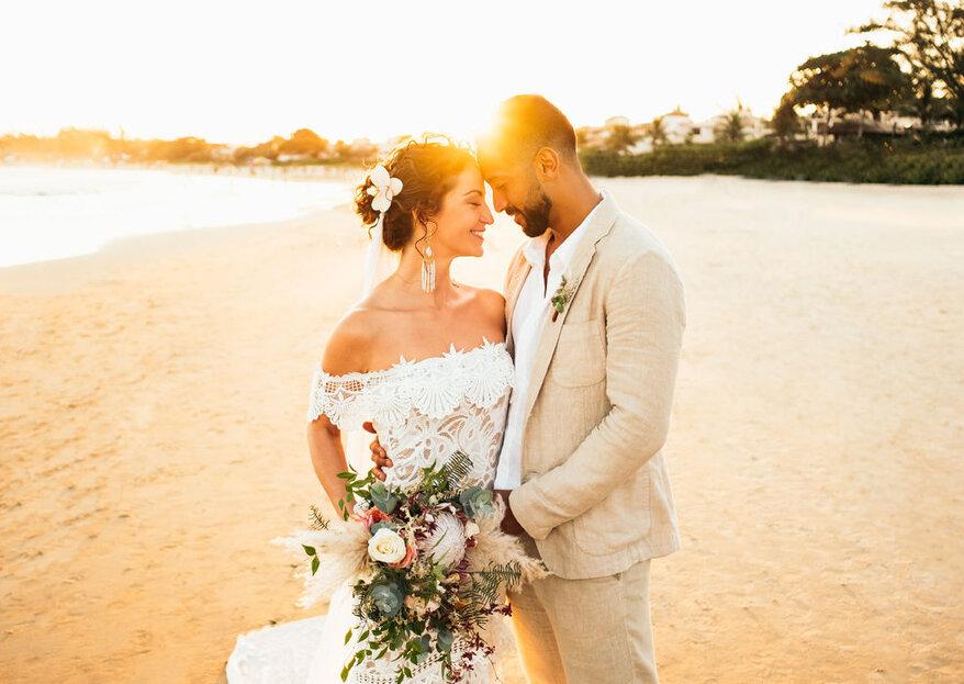 Casamento 100% personalizado: sejam vocês mesmos em cada detalhe!