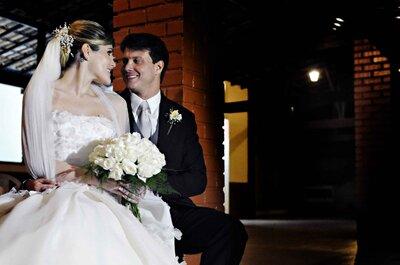 Casamento de Ana Paula e Antonio: cerimônia emocionante, festa divertida e sonho realizado