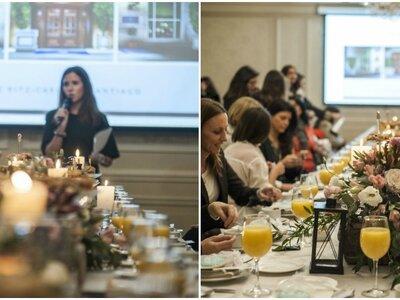 Todos los detalles sobre el segundo encuentro Wedding Club en Santiago celebrado en el hotel The Ritz-Carlton