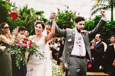 ¿Qué meses son los mejores para casarse? Los expertos te lo cuentan