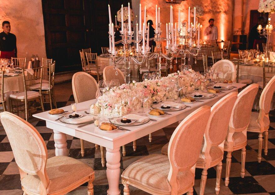 Así es una boda destino en Cartagena con los wedding planner de Bodas Casa Blanca
