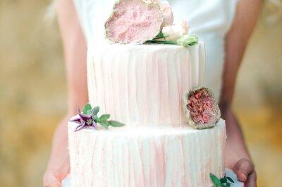 Тренды свадебных тортов от I love sweet: сладкая точка в конце вечера!