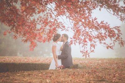 Anne-Sophie et Guillaume : un beau mariage en automne près de Paris