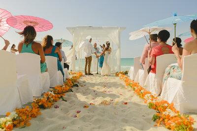 Sebastián y María Sol, una boda en Varadero ¡La aventura recién empieza!