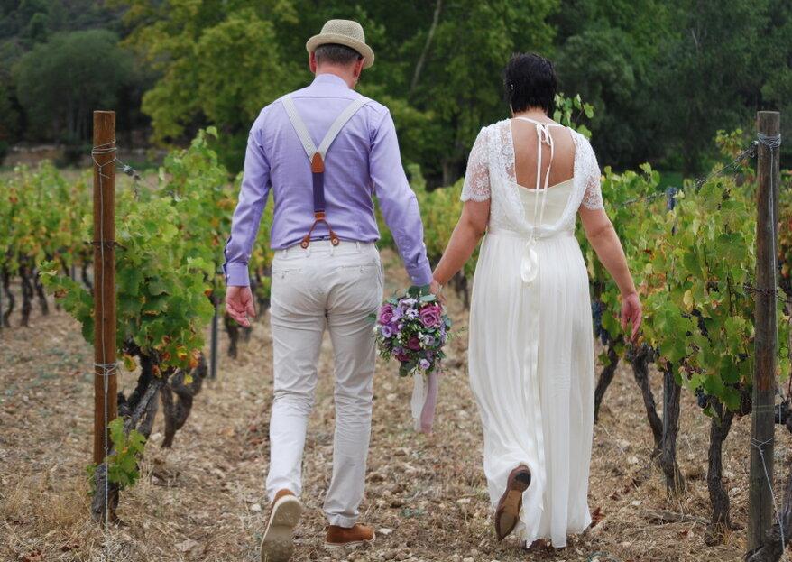 Die Traumhochzeit in der Provence feiern –Bettina & Bernd sagten in Südfrankreich Ja