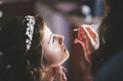 13 das melhores maquilhadoras para noivas em Lisboa