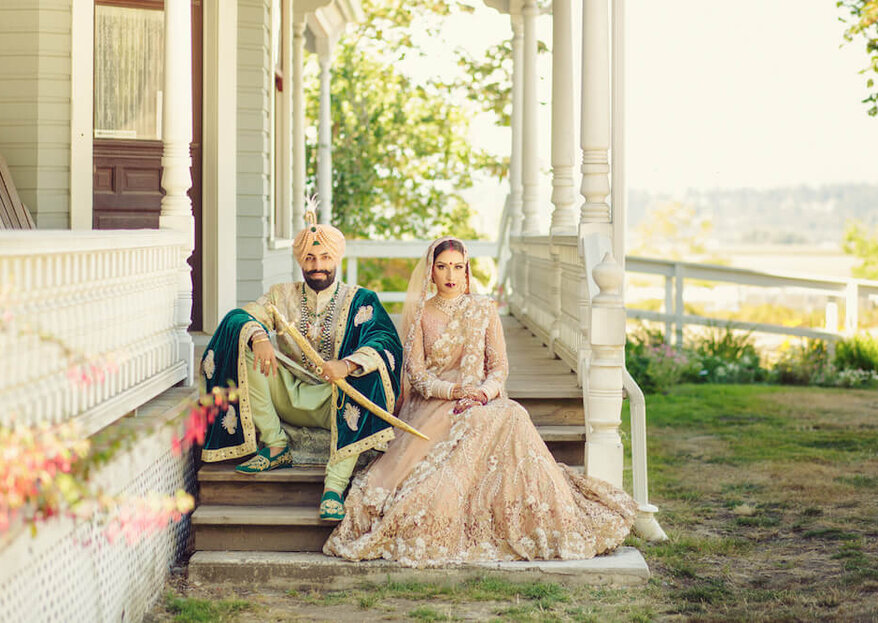 Real Wedding: A Lavish Indian Wedding in Surrey, British Colombia