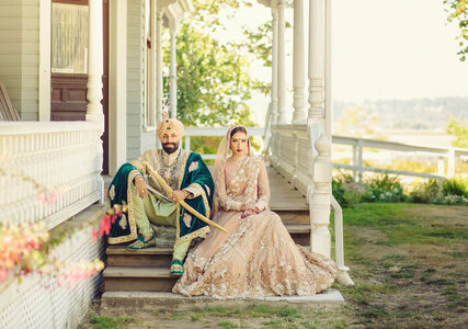 Real Wedding: A Lavish Indian Wedding in Surrey, British Colombia