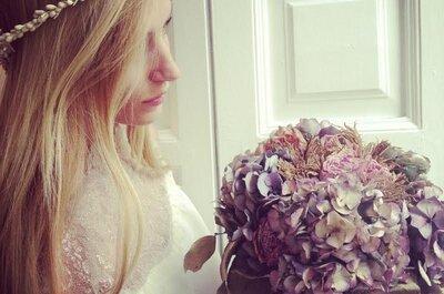 5 razones por las que las coronas florales para novias vuelven a ser tendencia