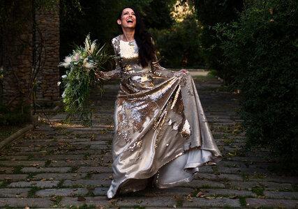 La novia dorada o cómo brillar con estilo en tu día B