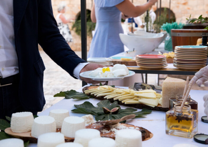 Il buffet di nozze con il casaro: il must del 2019 con Caseus L'arte Del Latte