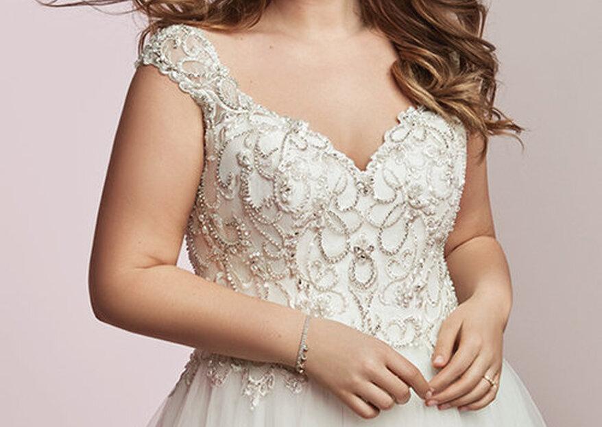Vestidos de novia para lucir tu figura con curvas
