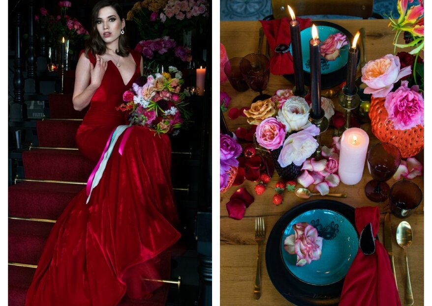 Styled Shoot: Funky Curiousity Eleganza